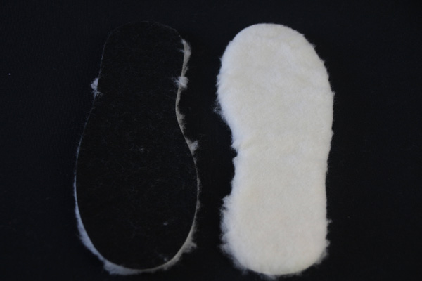 Warm Wool Felt Insole for Winter Boots