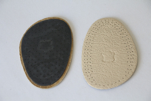 Custom Warm Felt Insole Latex Forefoot Pads