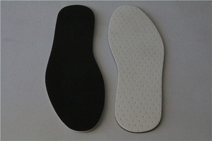 Custom Warm Felt Insole Custom Stripe Latex Fashionable Insole
