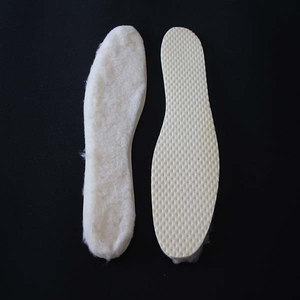 High Quality Snow Boot Warm Insole Wool Insole with Latex