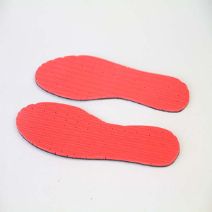 Colorful Perforated Latex Foam Insoles