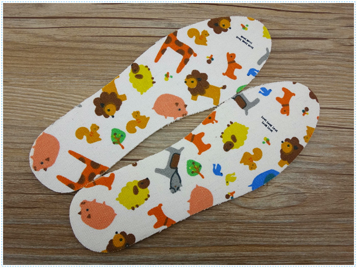 Hot Selling Health Care Latex Children Insole Cartoon Insole