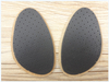 Shock Absorption Lampskin Leather Forefoot Pad Leather Insoles for Men's Shoes