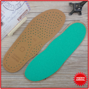 Soft Upmarket Cow Genuine Leather Insoles