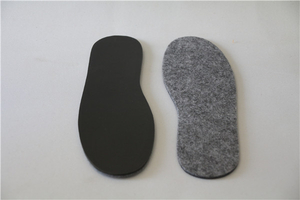 Custom Warm Felt Wool Warmfits Heated Insoles